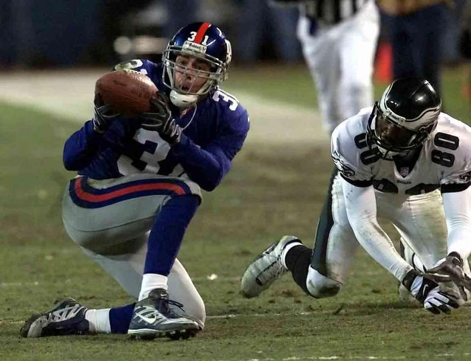 JAN. 7, 2001: THE SEHORN INTERCEPTION The Giants