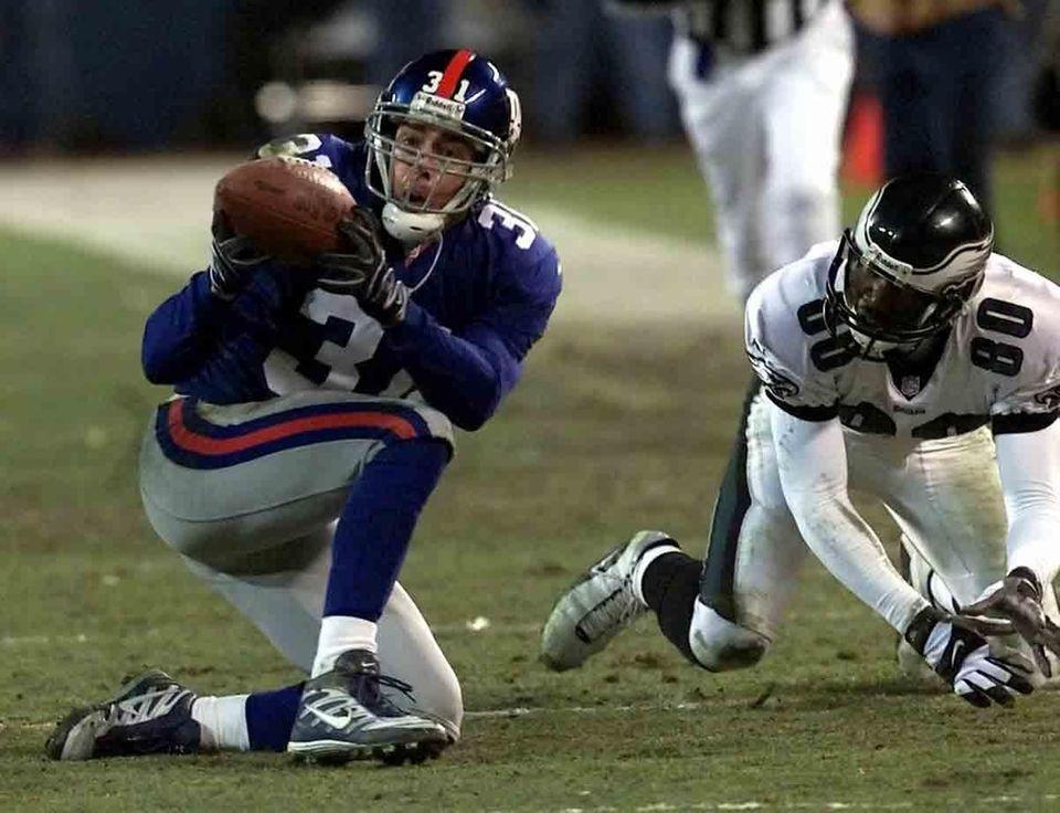 JAN. 7, 2001: THE SEHORN INTERCEPTION The Giants