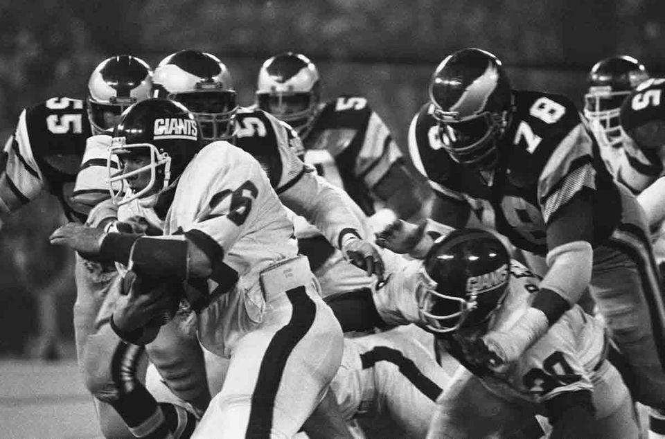 DEC. 27, 1981: GIANT MISMATCH The Eagles had
