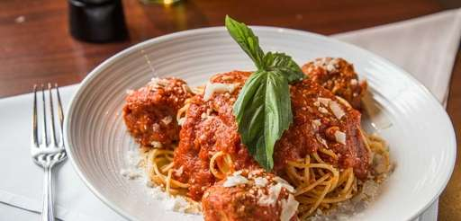 Meatballs are essential on the menu at Emilio's