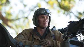 "Brad Pitt as Sgt. Don ""Wardaddy"" Collier in"