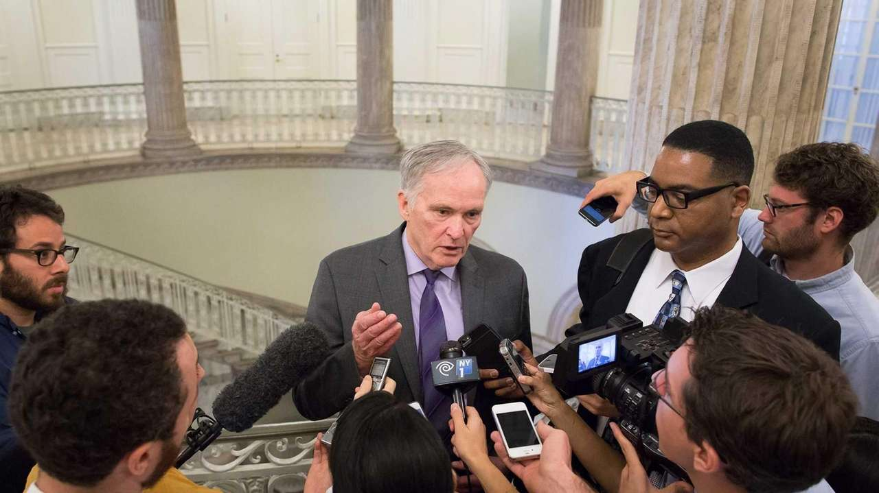 Commissioner of Department of Correction Joseph Ponte answers