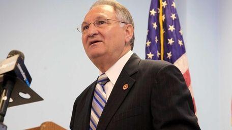 Nassau County Executive Edward Mangano's 2015 budget has