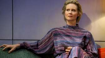 Cynthia Nixon plays the abandoned wife in Tom