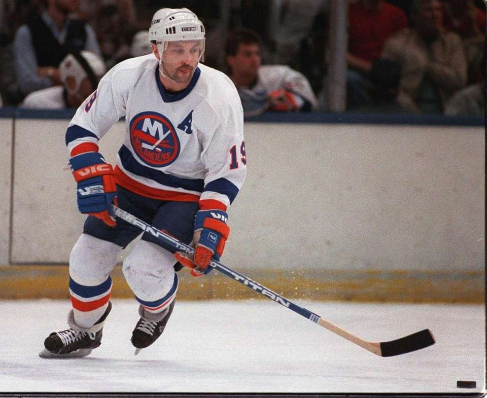 Bryan Trottier, the Islanders center who won the