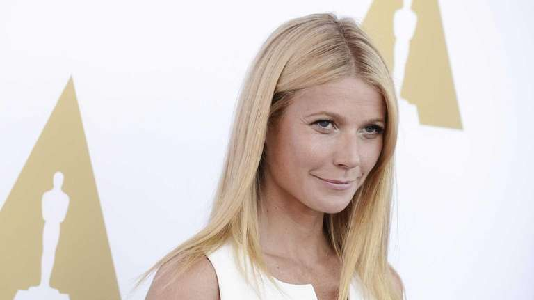 Gwyneth Paltrow poses on Wednesday, Oct. 8, 2014