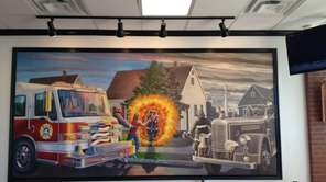 The new Firehouse Subs in Levittown is decorated