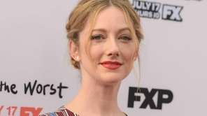 Judy Greer attends the premiere screening's for FX's
