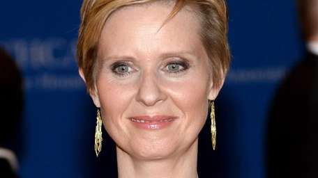 Cynthia Nixon attends the 100th Annual White House