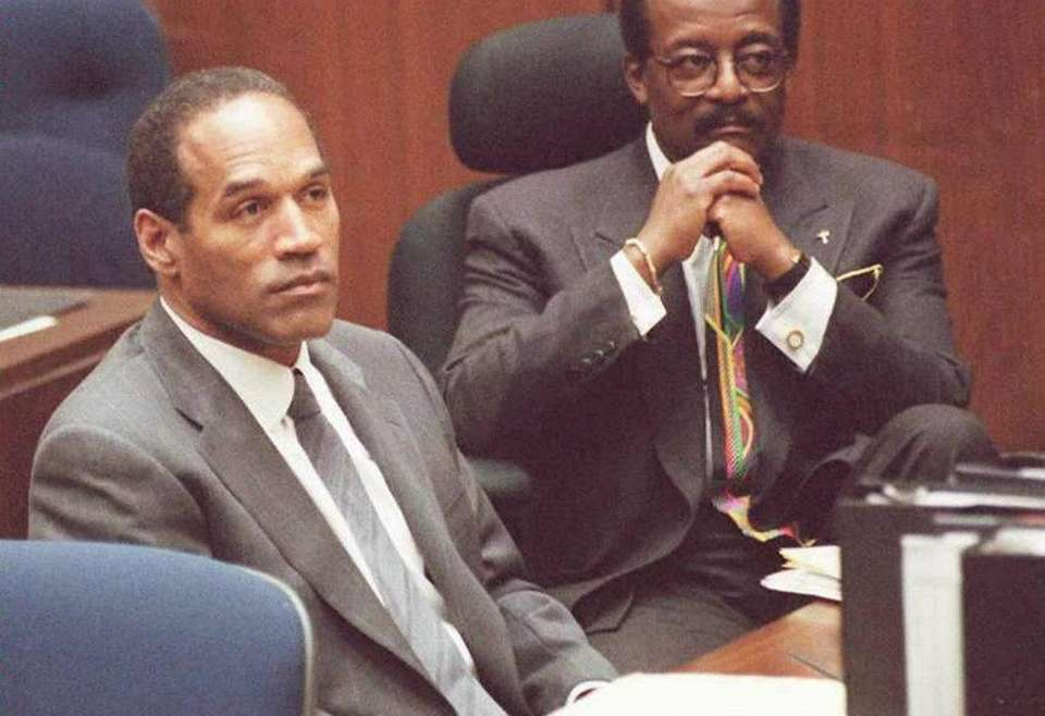Football star and actor O.J. Simpson was acquitted