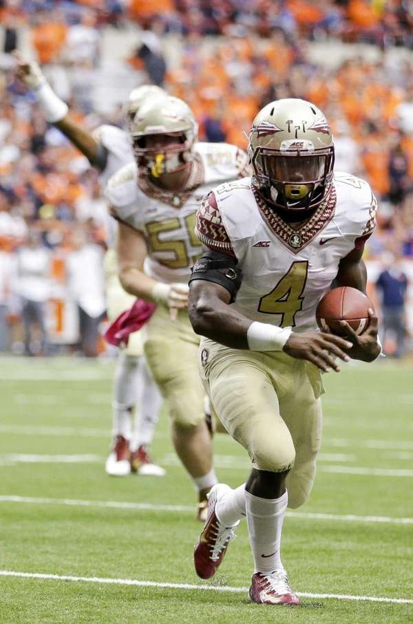 Florida State running back Dalvin Cook (4) runs