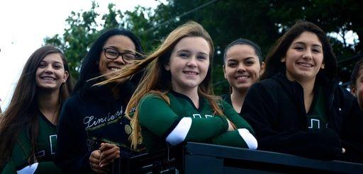 Lindenhurst cheerleaders