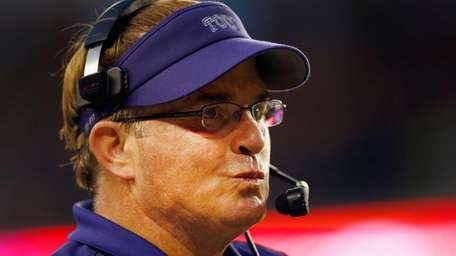 Head coach Gary Patterson of the TCU Horned