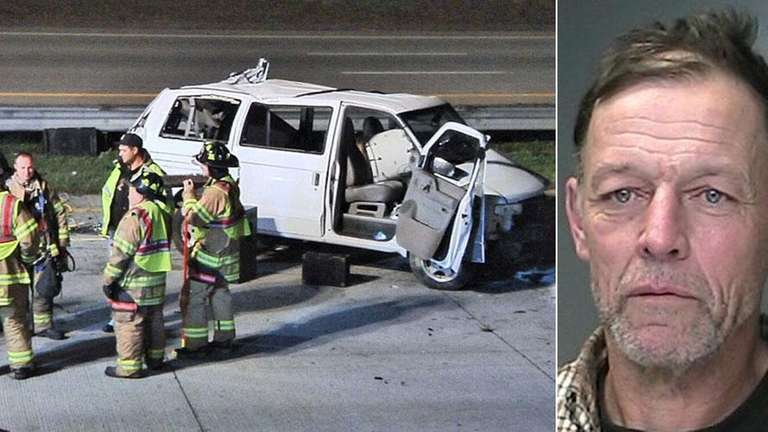 Holbrook man charged with DWI in Sunrise Highway crash in Oakdale