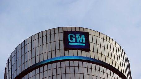 The General Motors headquarters in Detroit on Jan.