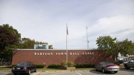 The town is renovating its town hall annex,