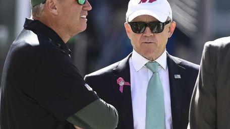 New York Jets head coach Rex Ryan and