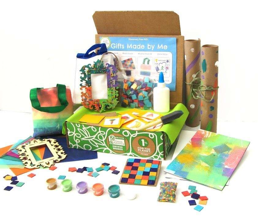 Green Kid Crafts($17.95 per month, www.greenkidcrafts.com)BEST FOR Ages