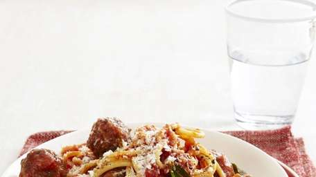 A kid-friendly spaghetti and meatball recipe can be