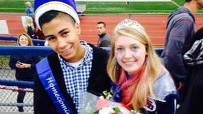 Smithtown High School West homecoming king and queen