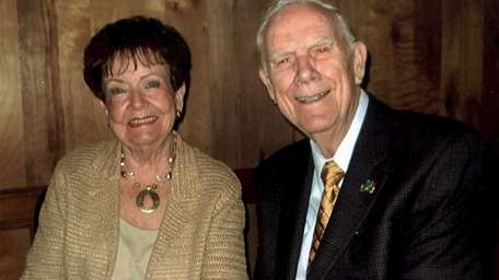 Joan and Donald Zager of Wantagh celebrated their