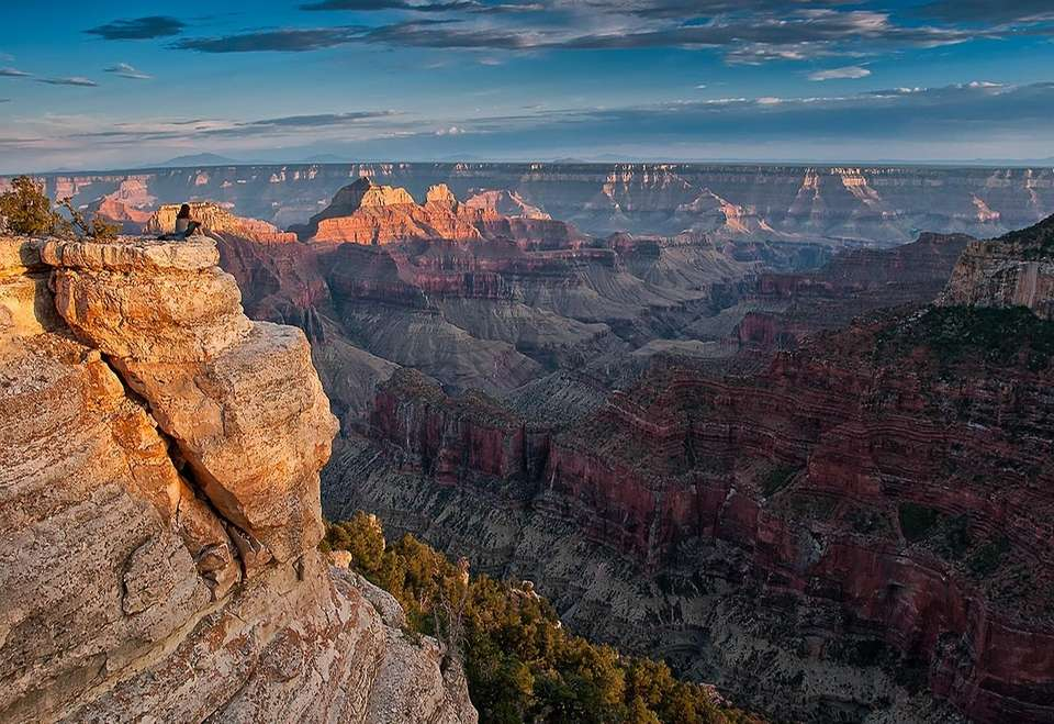 Grand Canyon National Park's Bright Angel Point is