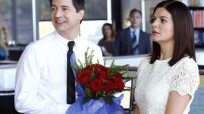 Casey Wilson, right, and Ken Marino appear in