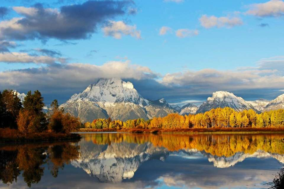 Grand Teton National Park in Wyoming.