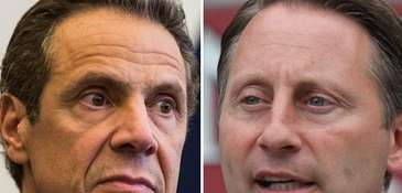 New York Gov. Andrew M. Cuomo and Republican