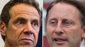 New York Gov. Andrew M. Cuomo and Republican