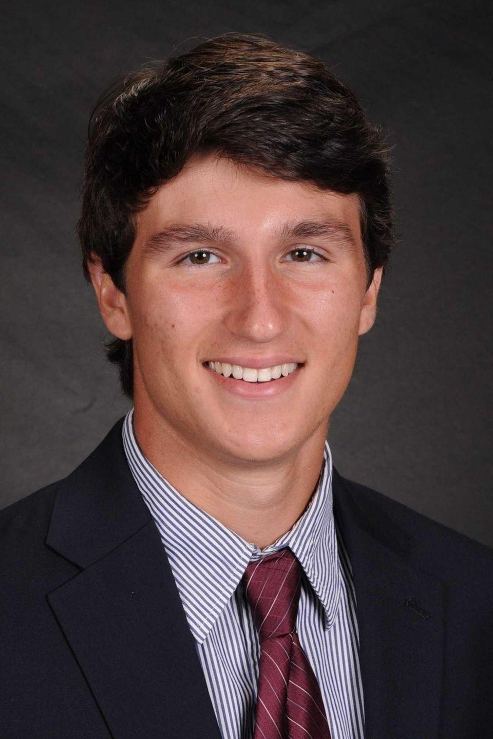 Christopher Koester, 17, a senior at Garden City