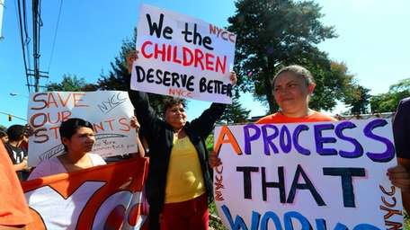 Parents of undocumented children band together during a
