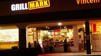 Grillmark is a casual Mediterranean eatery in Albertson.