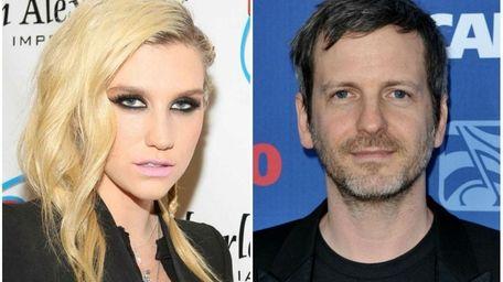 Left: Kesha attends the Jingle Ball 2012 concert