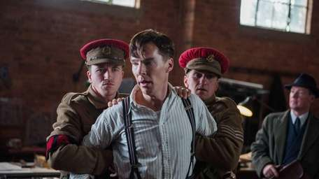 Benedict Cumberbatch stars as British mathematician Alan Turing