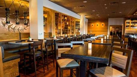 Interior of the new Bonefish Grill at Smith