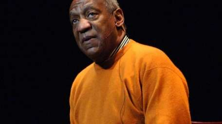Comedian Bill Cosby at the Apollo Theater on