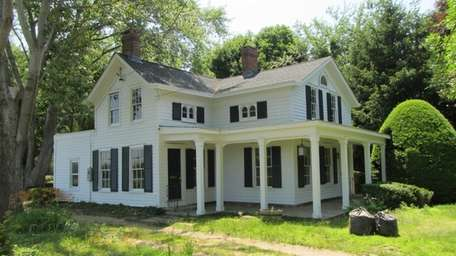 A circa 1900 Mattituck farmhouse is on the