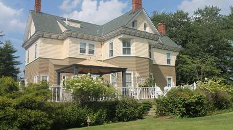 A restored Islip Victorian, built in 1890, is