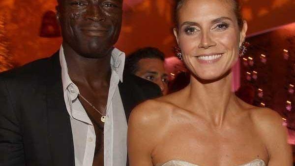 Model Heidi Klum and Grammy-winning singer Seal officially