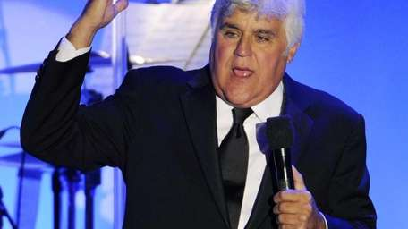 Jay Leno performs during the Carousel of Hope