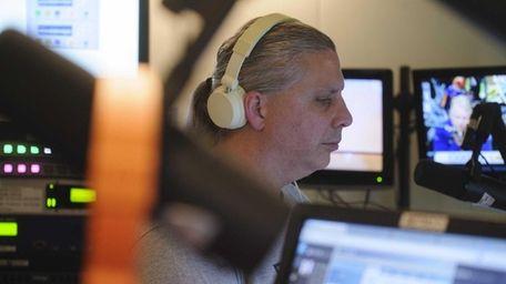 Eddie Scozzare, a producer and board operator for