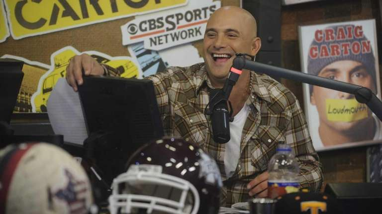 Craig Carton co-hosts WFAN's morning show with Boomer