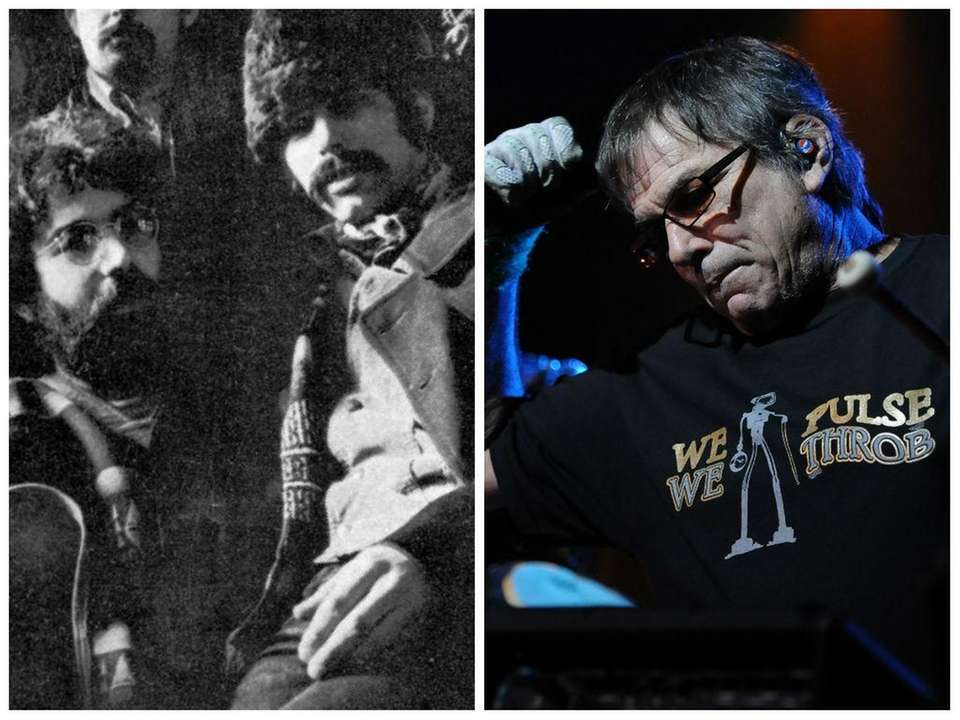 Grateful Dead drummer Mickey Hart with Jerry Garcia