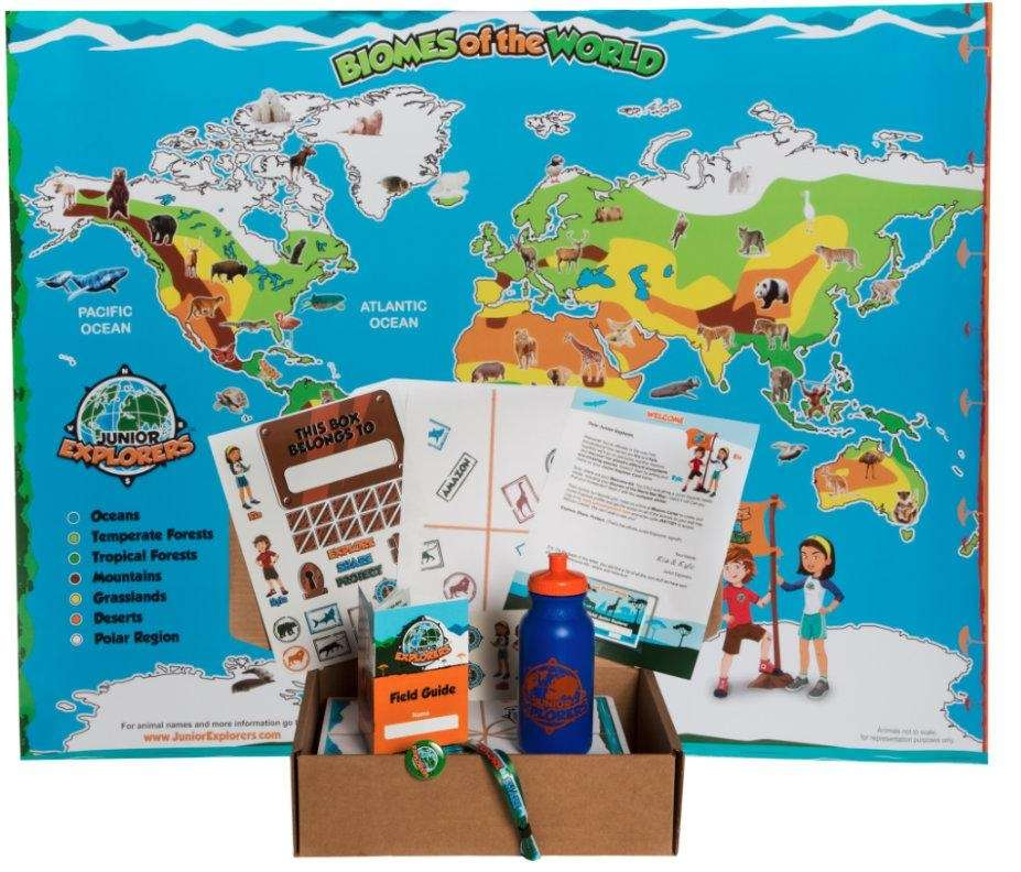 Junior Explorers Club($19 a month, www.juniorexplorers.com)BEST FOR ages