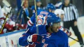 New York Rangers left wing Anthony Duclair in