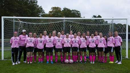 The Suffolk County Community College women's soccer team