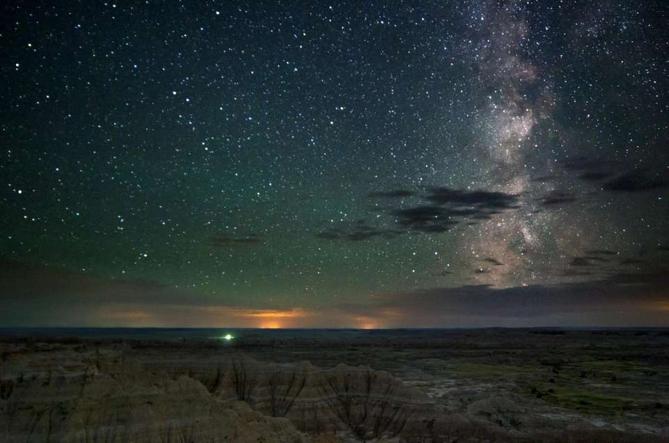 The rugged beauty of the Badlands National Park