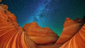 The Wave in Paria Canyon-Vermilion Cliffs Wilderness in