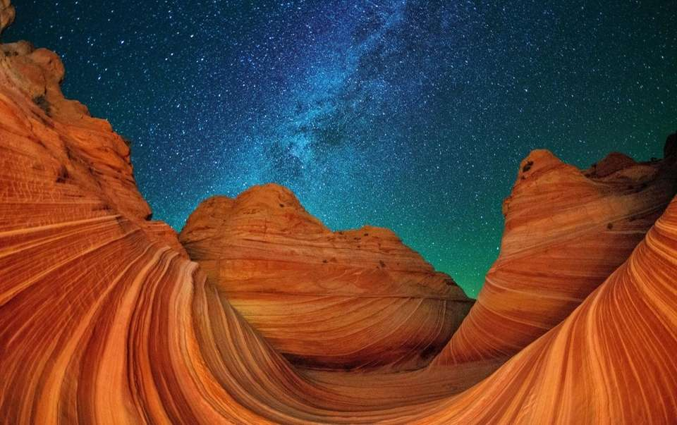 The Wave in Paria Canyon-Vermilion Cliffs Wilderness in